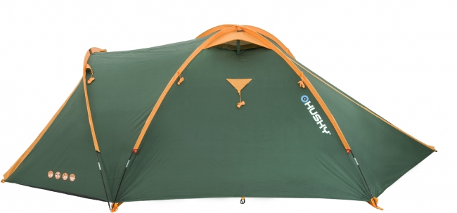 Палатка туристическая Husky Bizon 3 Classic цвет  зеленый