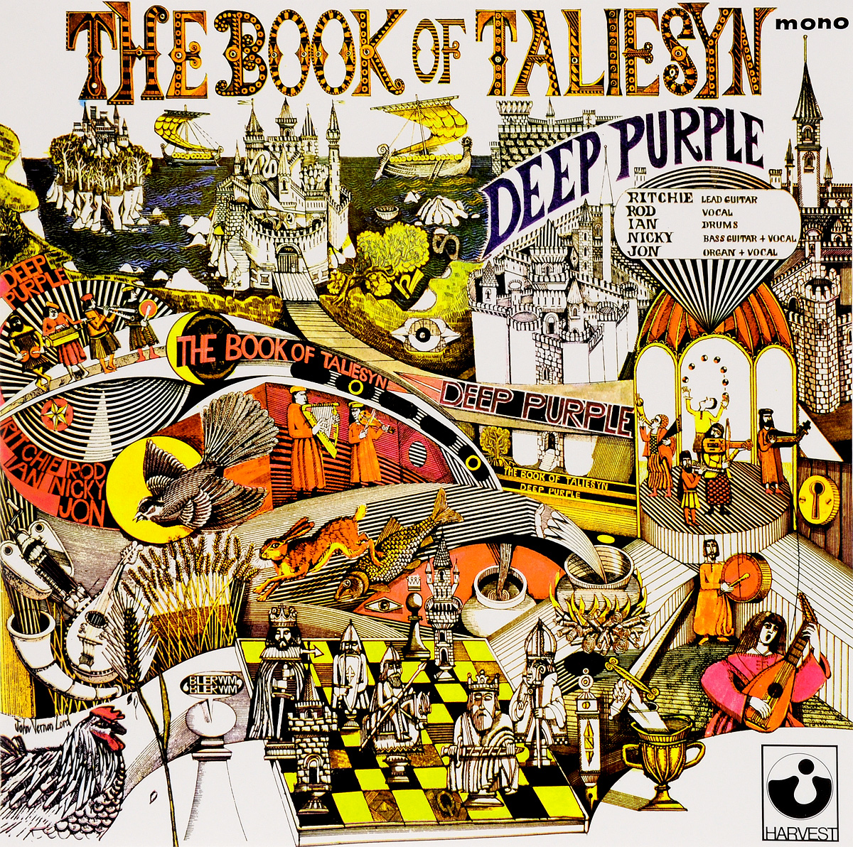 Deep Purple Deep Purple. The Book Of Taliesyn (LP) deep purple deep purple the book of taliesyn lp