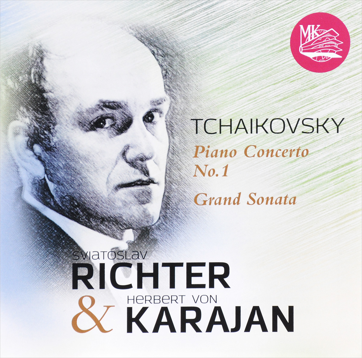 Герберт Караян,Святослав Рихтер Richter & Karajan. Tchaikovsky: Concerto No. 1 & Grand Sonata (CD) best karajan 100 6 cd