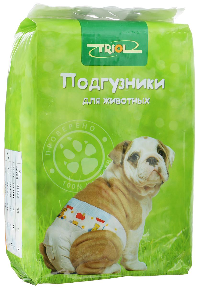 """Подгузники для домашних животных """"Triol"""", 4-7 кг, 20 шт. Размер S"""
