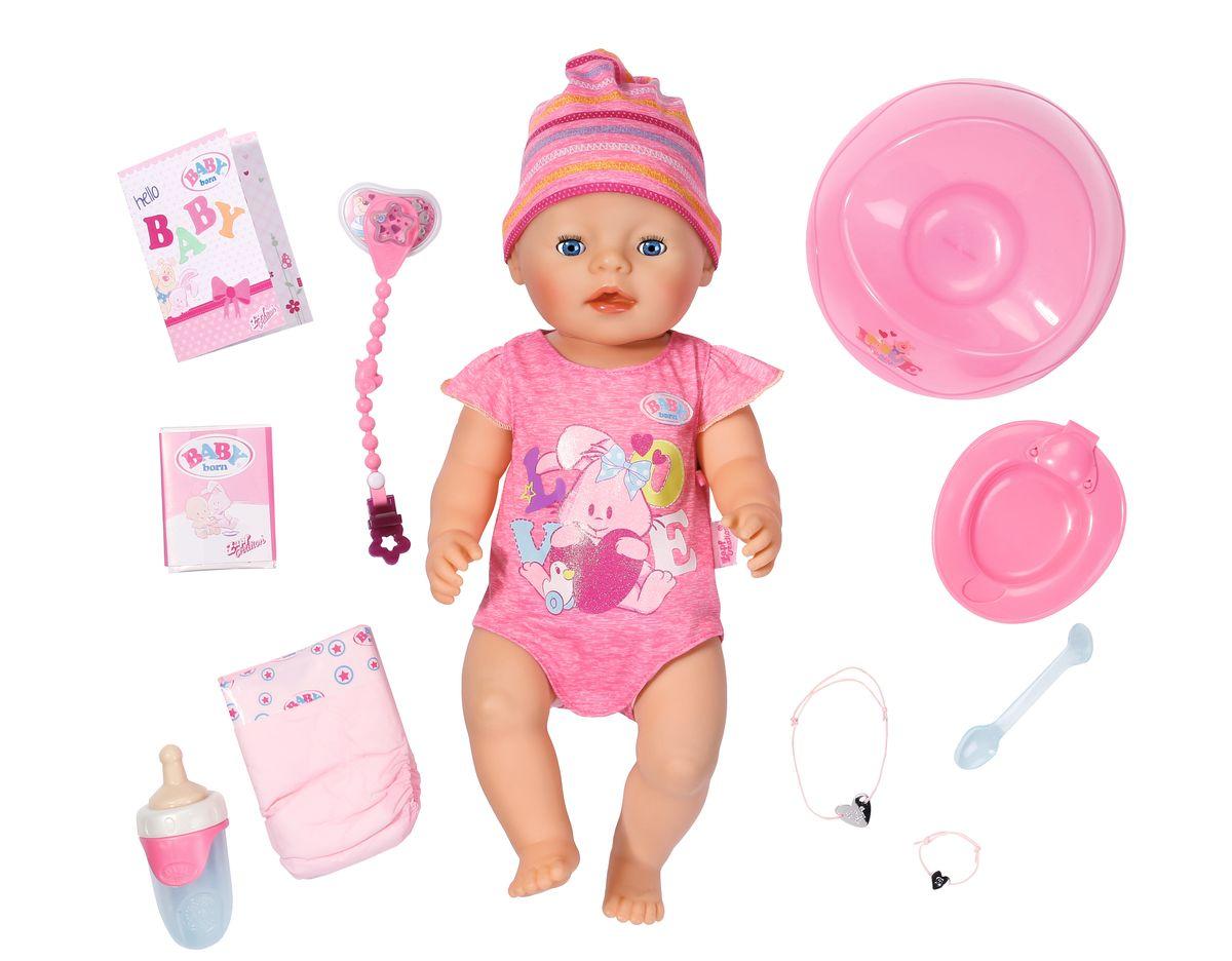 Baby Born Интерактивная кукла 823-163