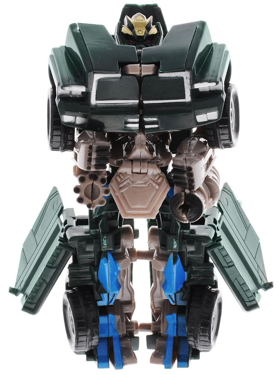 Тилибом Робот-трансформер цвет темно-зеленый светло-бежевый голубой