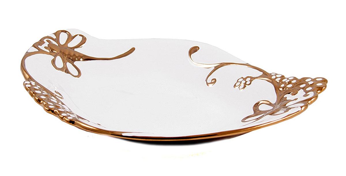 Блюдо декоративное Русские Подарки, диаметр 35 см. 114108 цена
