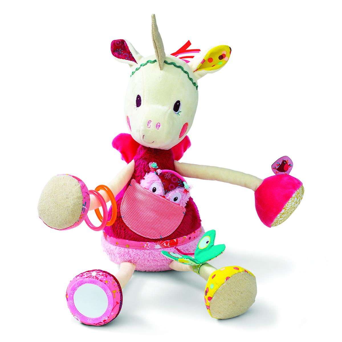 Lilliputiens Развивающая игрушка Единорожка Луиза погремушки lilliputiens ручная единорожка луиза