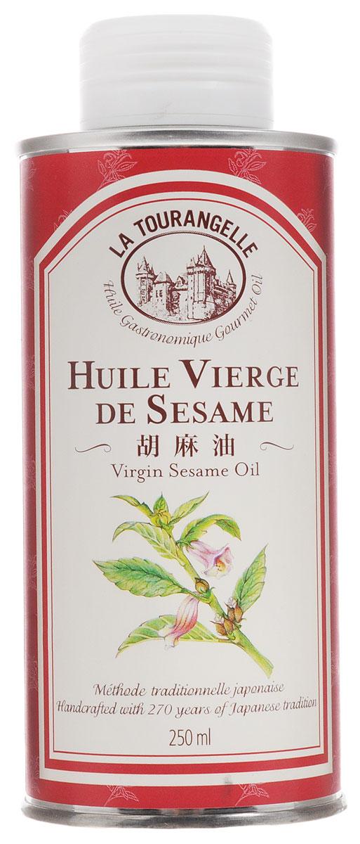 La Tourangelle Sesame Virgin Oil масло кунжутное нерафинированное, 250 мл la tourangelle sesame virgin oil масло кунжутное нерафинированное 250 мл