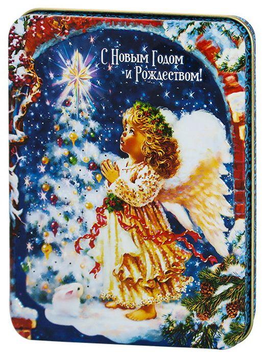 Дольче Вита Рождественский ангел черный и зеленый листовой чай, 60 г дольче вита письмо деда мороза черный листовой чай 60 г