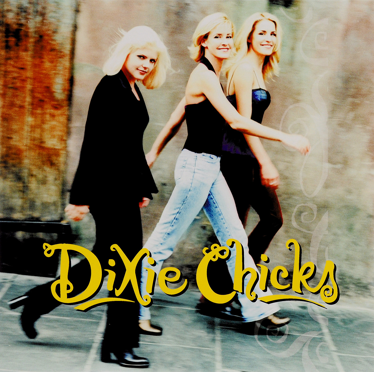 Фото - Dixie Chickhs Dixie Chickhs. Wide Open Spaces (LP) green side pockets wide leg plain middle waisted pants