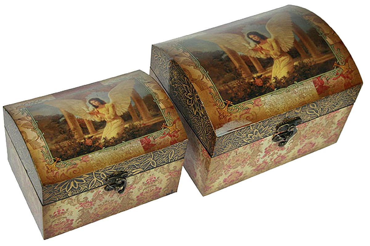 """Набор сундучков """"Roura Decoracion"""", 22 х 17 х 16 см, 2 шт. 34719"""