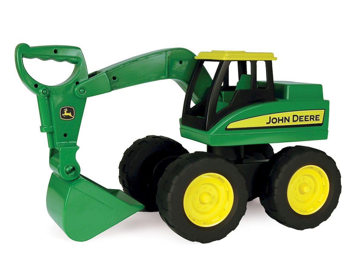 Tomy Большегрузный экскаватор John Deere игрушка tomy john deere то42934