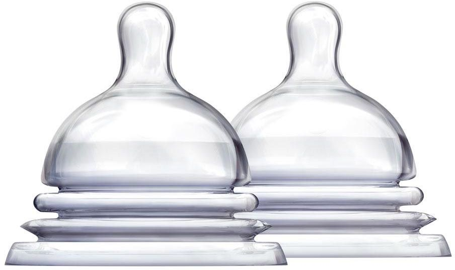 соски Munchkin Соска силиконовая от 0 месяцев 2 шт