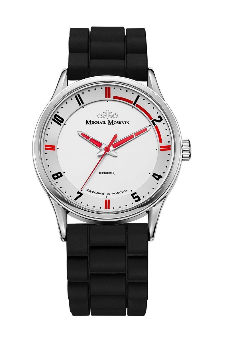 Часы наручные мужские Mikhail Moskvin, цвет: серебристый, черный. 1129A1L1 все цены