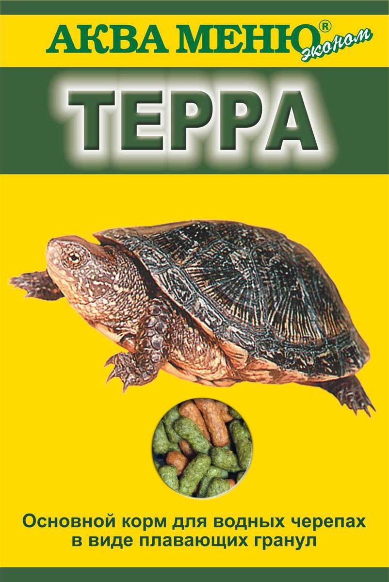 Корм Аква Меню Терра для водных черепах, в виде плавающих гранул, 15 г корм аква меню терра для водных черепах в виде плавающих гранул 15 г
