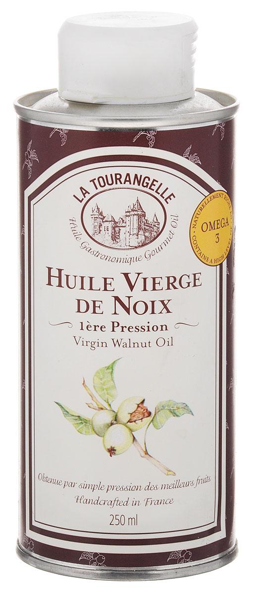 La Tourangelle Virgin Walnut Oil масло грецкого ореха нерафинированное, 250 мл la tourangelle sesame virgin oil масло кунжутное нерафинированное 250 мл