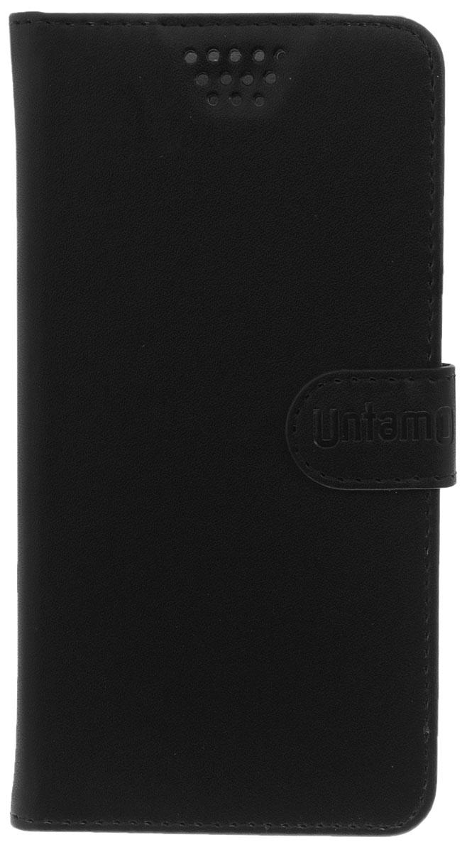 Untamo Essence чехол универсальный 5.0-5.5, Black untamo essence чехол универсальный 4 5 5 0 black