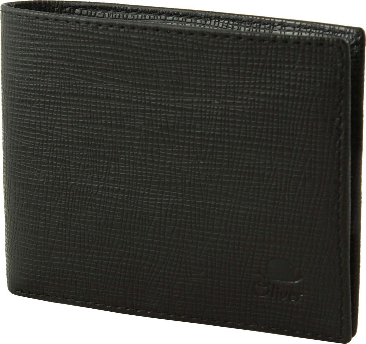 Портмоне мужское Dimanche Oliver, цвет: черный. 075 портмоне мужское cangurione цвет черный 1214 001 v black