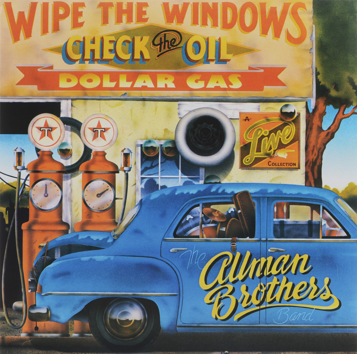 The Allman Brothers Band The Allman Brothers Band. Wipe The Windows, Check The Oil, Dollar Gas (2 LP) 6 speed cable band switch 25f