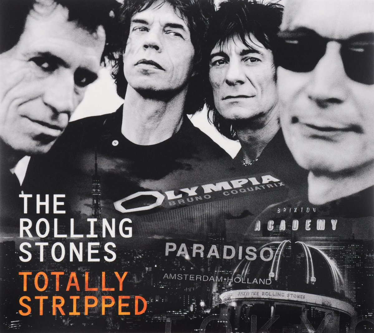 The Rolling Stones Rolling Stones. The Totally Stripped (CD + DVD) музыка cd dvd audio