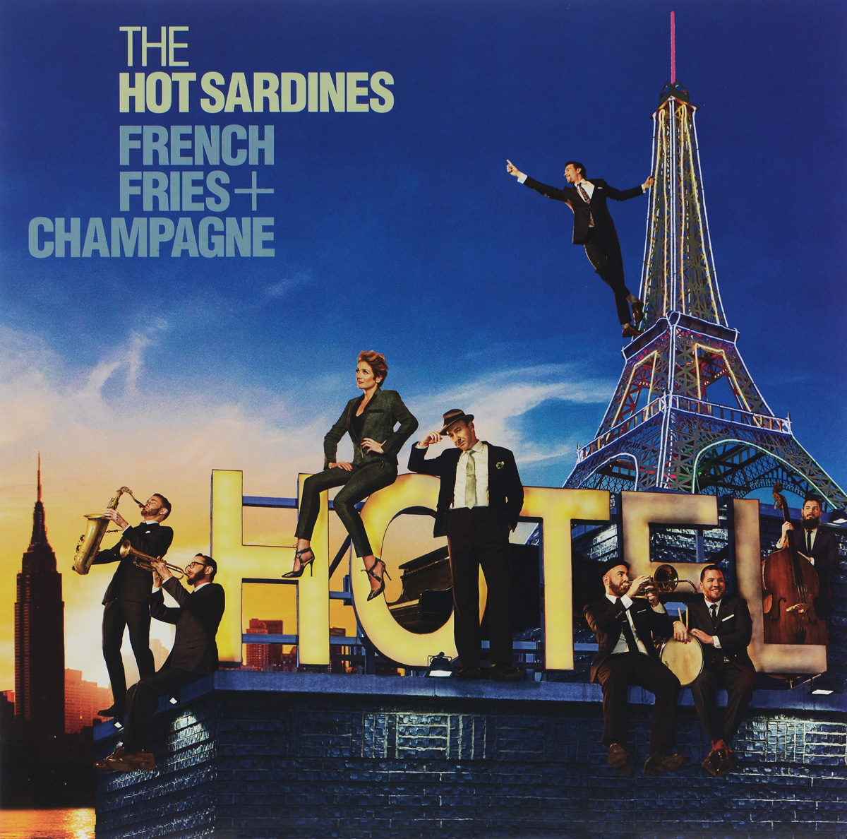 The Hot Sardines The Hot Sardines. French Fries + Champagne (LP) fries