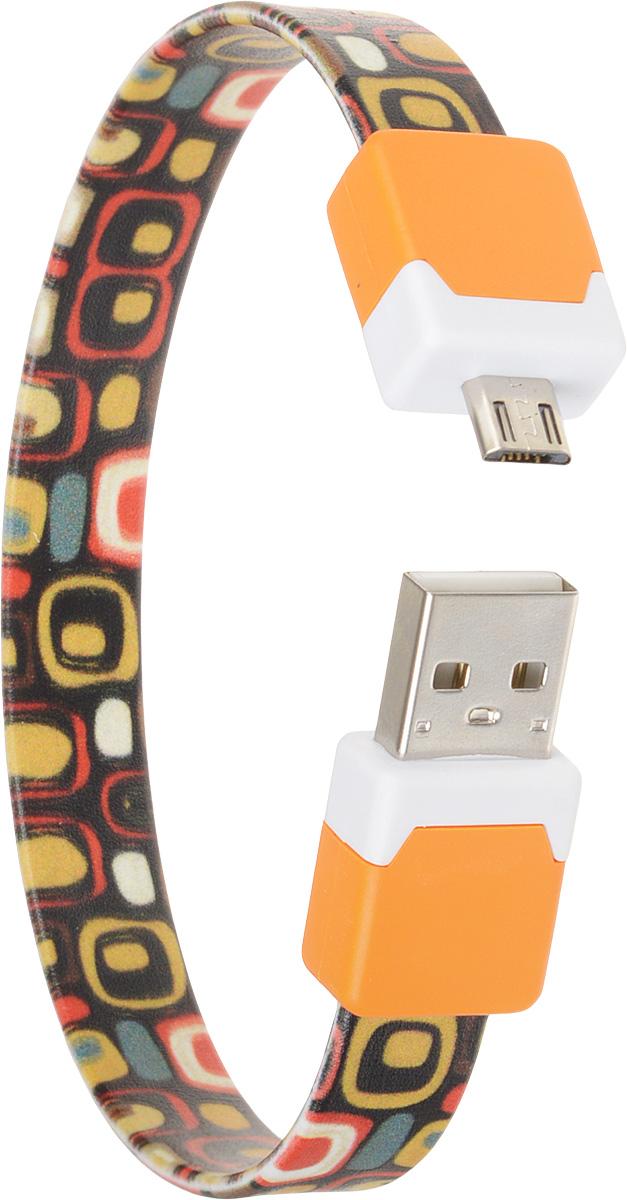 DVTech CB135 multicolor, Orange кабель USB-micro USB 2.0 25 см