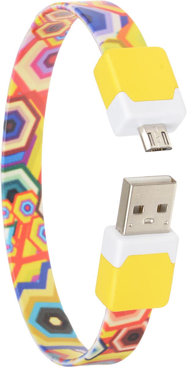 Фото - DVTech CB135 multicolor, Yellow кабель USB-micro USB 2.0 25 см кабель dvtech cb402 plus usb psp зарядка обмен данными черный 1 2 м