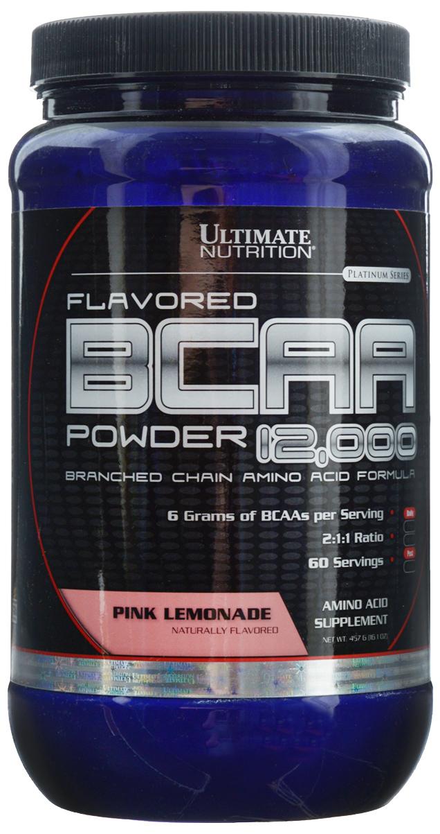 Аминокислоты Ultimate Nutrition BCAA 12,000, лимонад, 457 г athletic nutrition bcaa 300 г