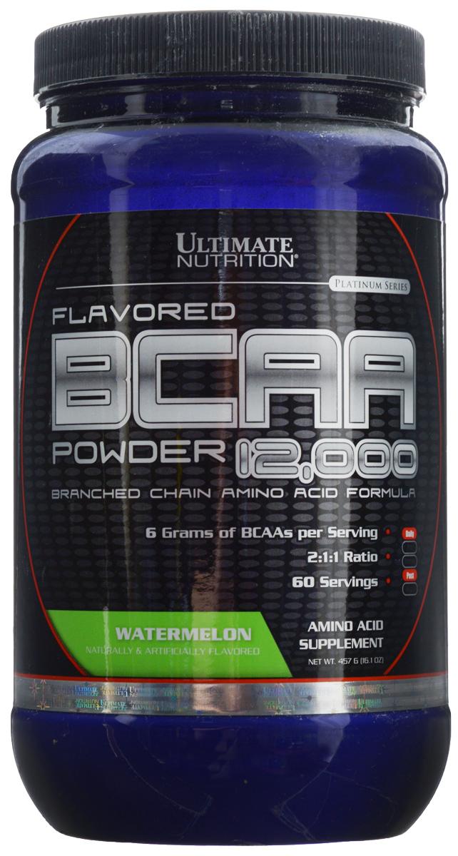 Аминокислоты Ultimate Nutrition BCAA 12,000, арбуз, 457 г athletic nutrition bcaa 300 г