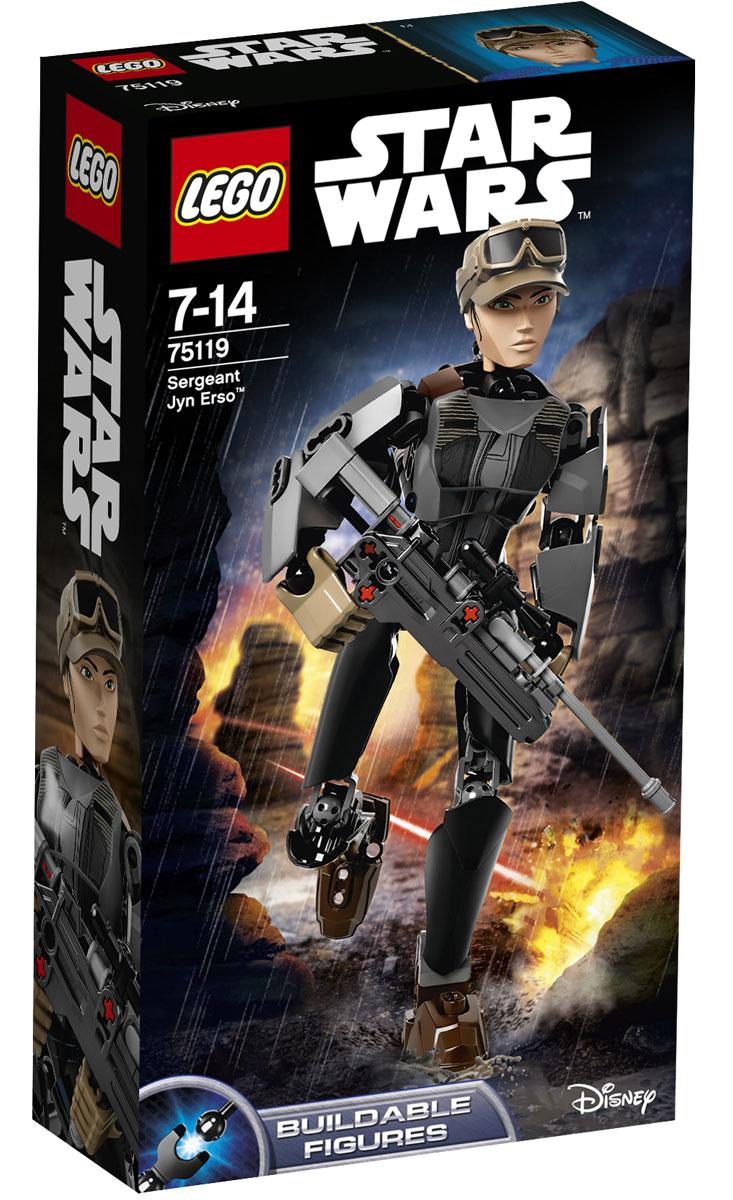 LEGO Star Wars Фигурка-конструктор Сержант Джин Эрсо 75119 конструктор lego star wars сержант джин эрсо 75119