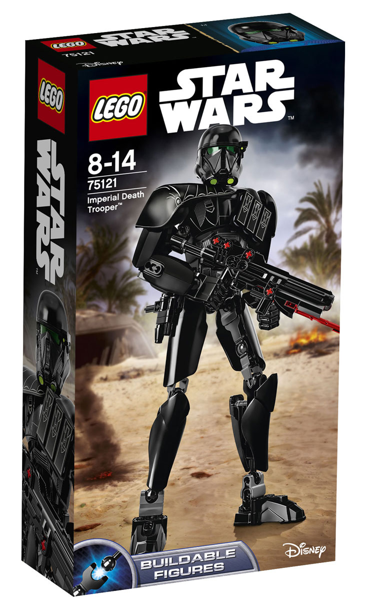 LEGO Star Wars Фигурка-конструктор Имперский Штурмовик Смерти 75121