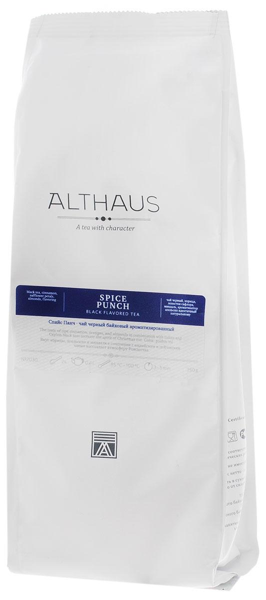 Althaus Spice Punch черный листовой чай, 250 г