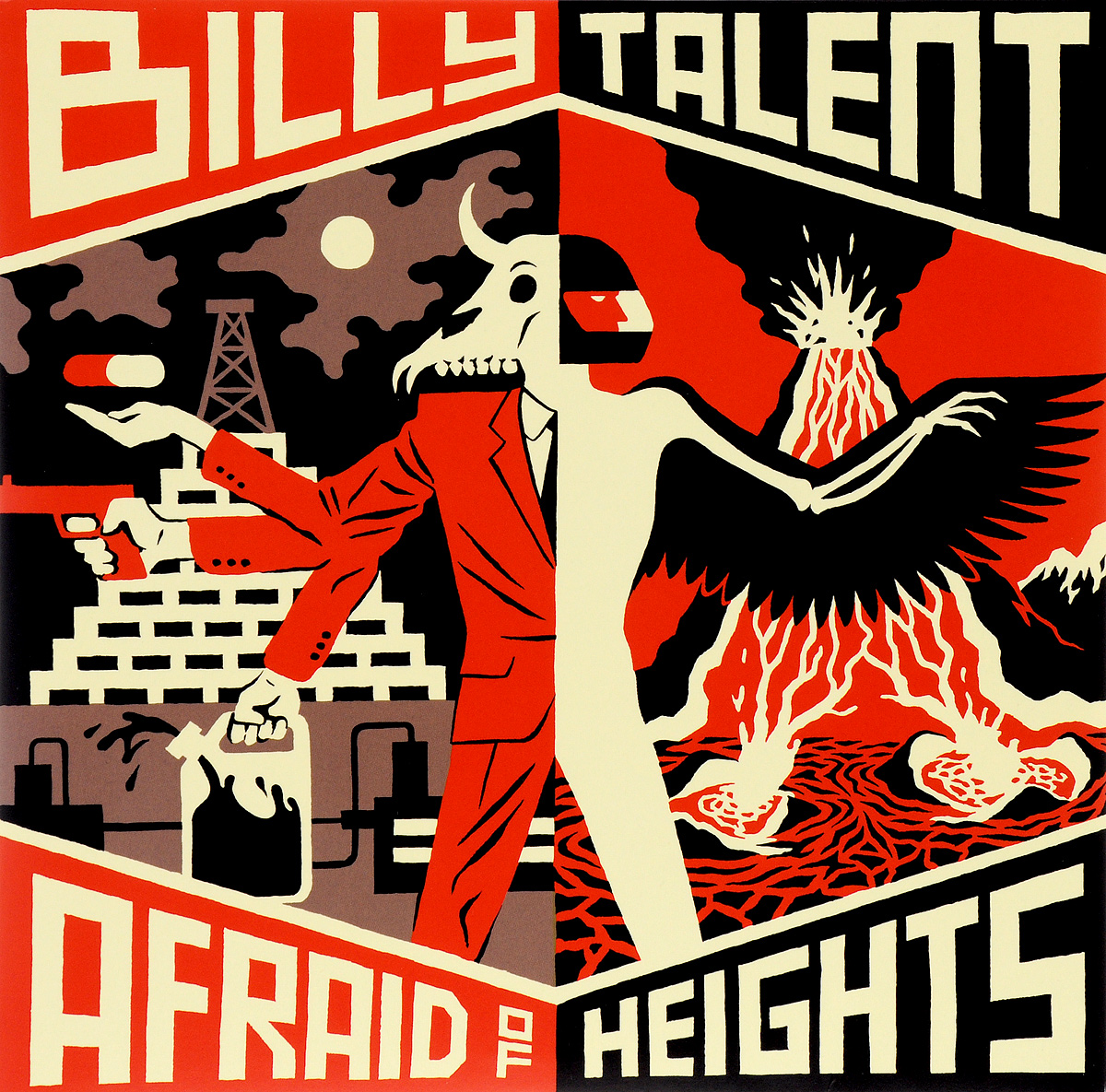 Билли Тэлент Billy Talent. Afraid Of Heights (2 LP)