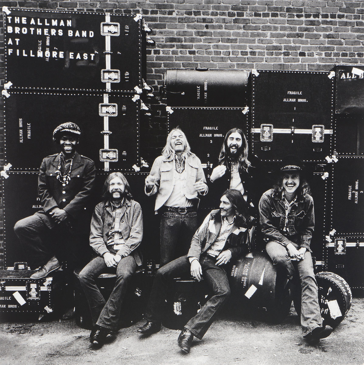 The Allman Brothers Band The Allman Brothers Band. At Fillmore East (2 LP) 6 speed cable band switch 25f