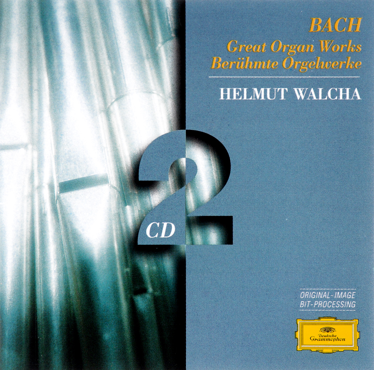 Хельмут Вальха J. S. Bach. Great Organ Works. Helmut Walcha (2 CD) мари клэр элэйн адольф буш sankt nicolai kirke marie claire alain bach complete works for organ 15 cd