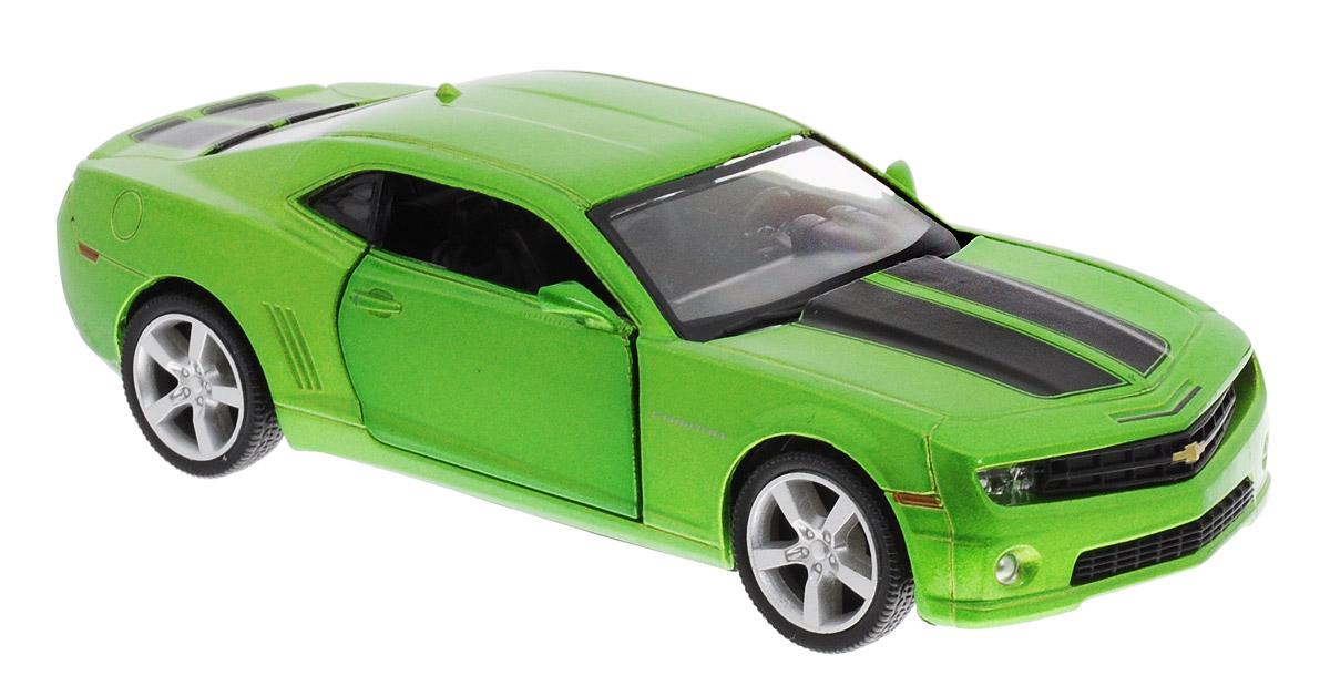 Uni-FortuneToys Модель автомобиля Chevrolet Camaro цвет зеленый металлик