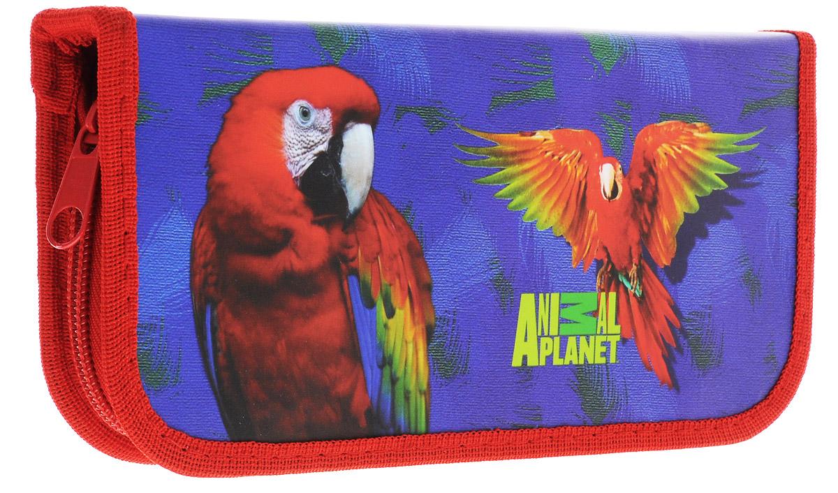 Action! Пенал Animal Planet цвет синий красный пенал тубус action animal planet дино