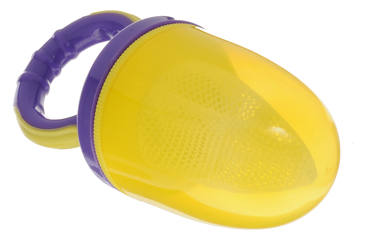 Lubby Ниблер Жуй'КА цвет желтый фиолетовый lubby ниблер микки и минни от 6 месяцев