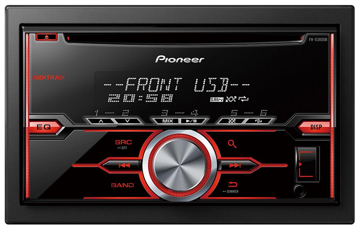 Pioneer FH-X380UB автомобильный ресивер
