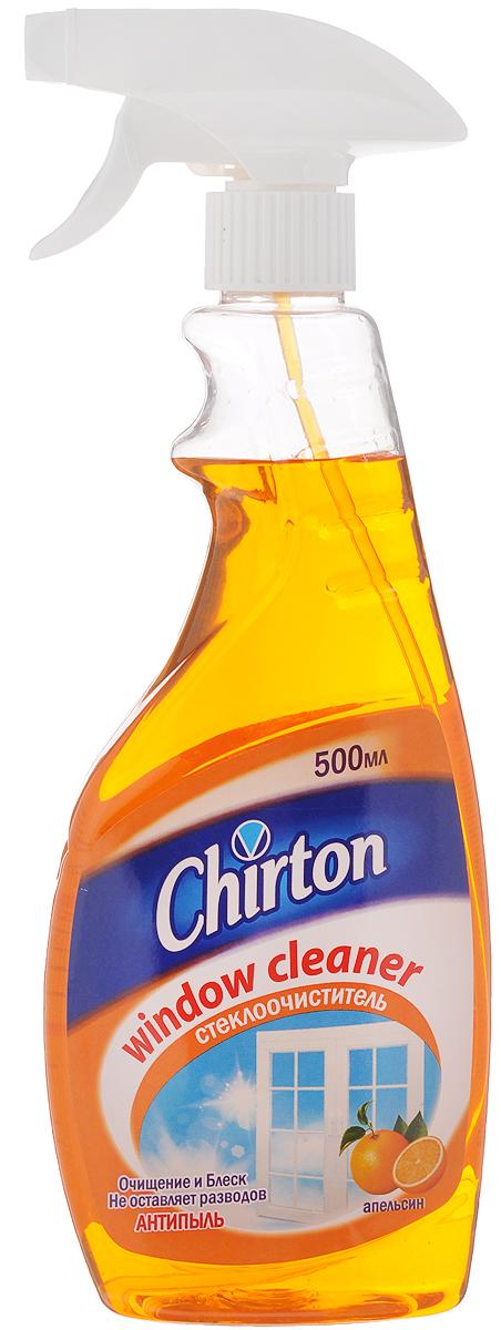 Средство для мытья стекол и зеркал Chirton Апельсин, 500 мл molecola экологичное средство для мытья стекол и зеркал 500 мл
