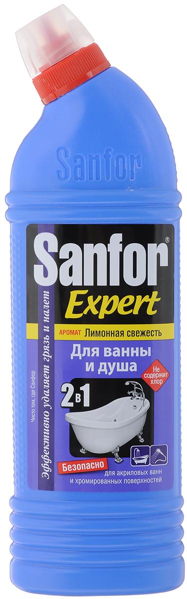 купить Средство для чистки ванны и душа Sanfor
