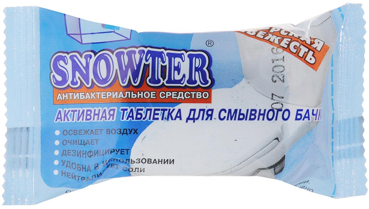Таблетка для смывного бачка Snowter Морская свежесть, 50 г таблетка д бачка glorus морская свежесть 2шт синяя