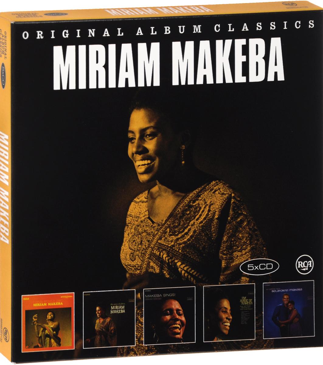 Мириам Макеба,Гарри Белафонте Miriam Makeba. Original Album Classics (5 CD) цена и фото