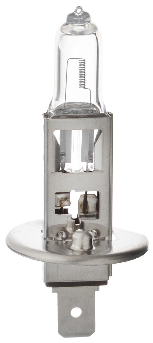 """Лампа автомобильная галогенная Philips """"Vision"""", для фар, цоколь H1 (P14,5s), 12V, 55W. 12258PRC1"""
