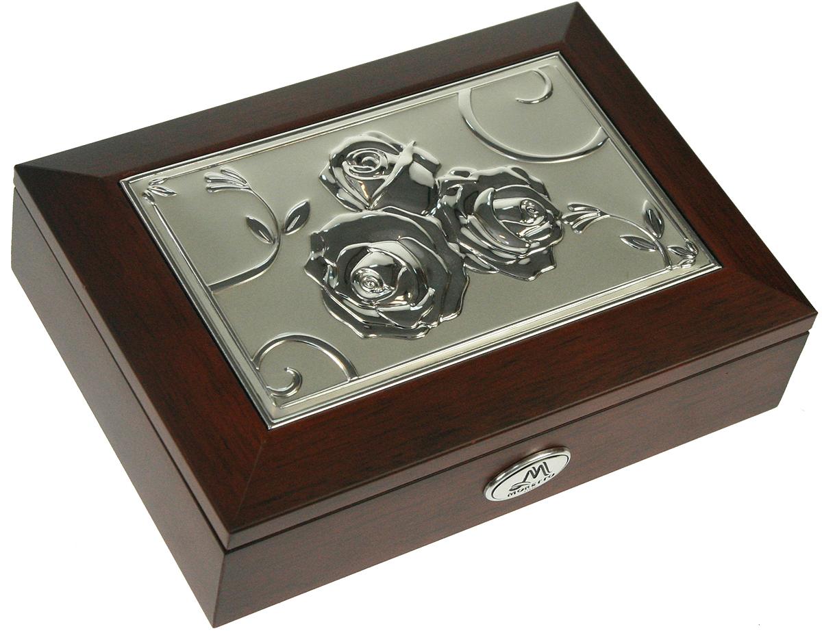 Шкатулка для ювелирных украшений Moretto, 18 х 13 х 5 см. 139516 шкатулка для ювелирных украшений moretto 18 х 13 х 5 см 139522
