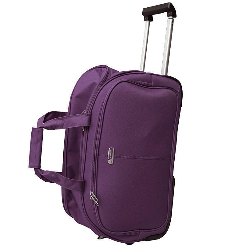 2ffb65bbf250 Сумка дорожная на колесах Edmins, цвет: фиолетовый, 55х35х30см — купить в  интернет-магазине OZON.ru с быстрой доставкой