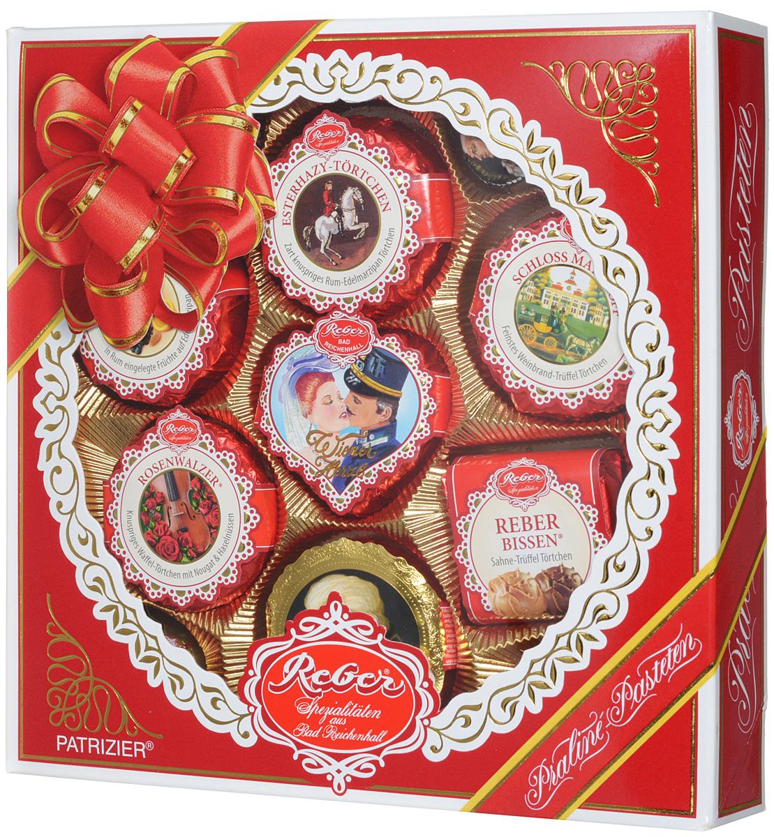 Reber Mozart Patrizier подарочный набор шоколадных конфет, 340 г
