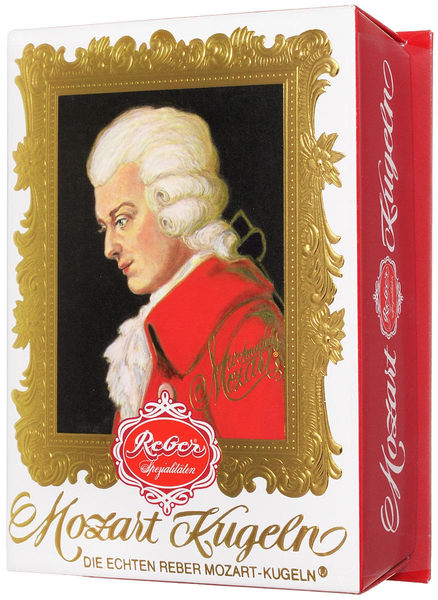 Reber Mozart Kugeln конфеты с горьким и молочным шоколадом, 120 г