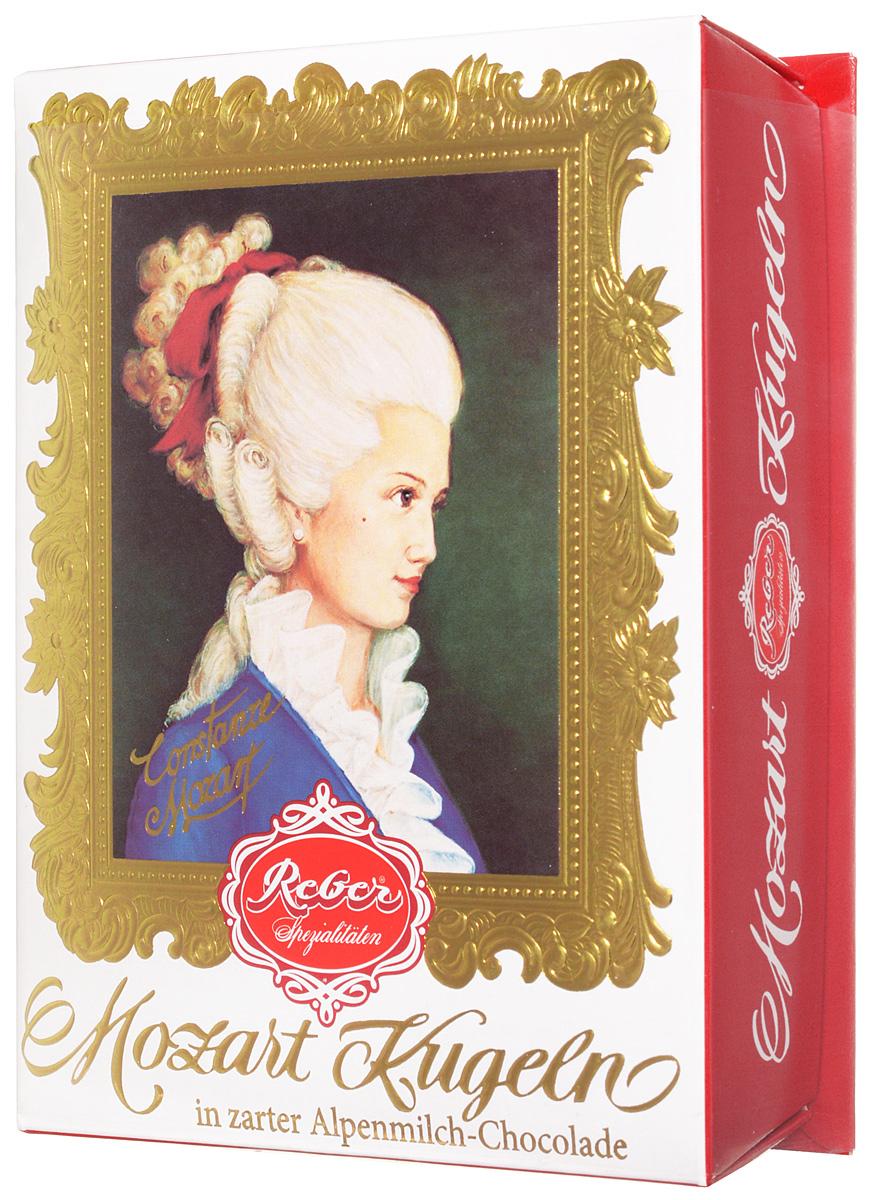Reber Mozart Kugeln конфеты с молочным шоколадом, 120 г
