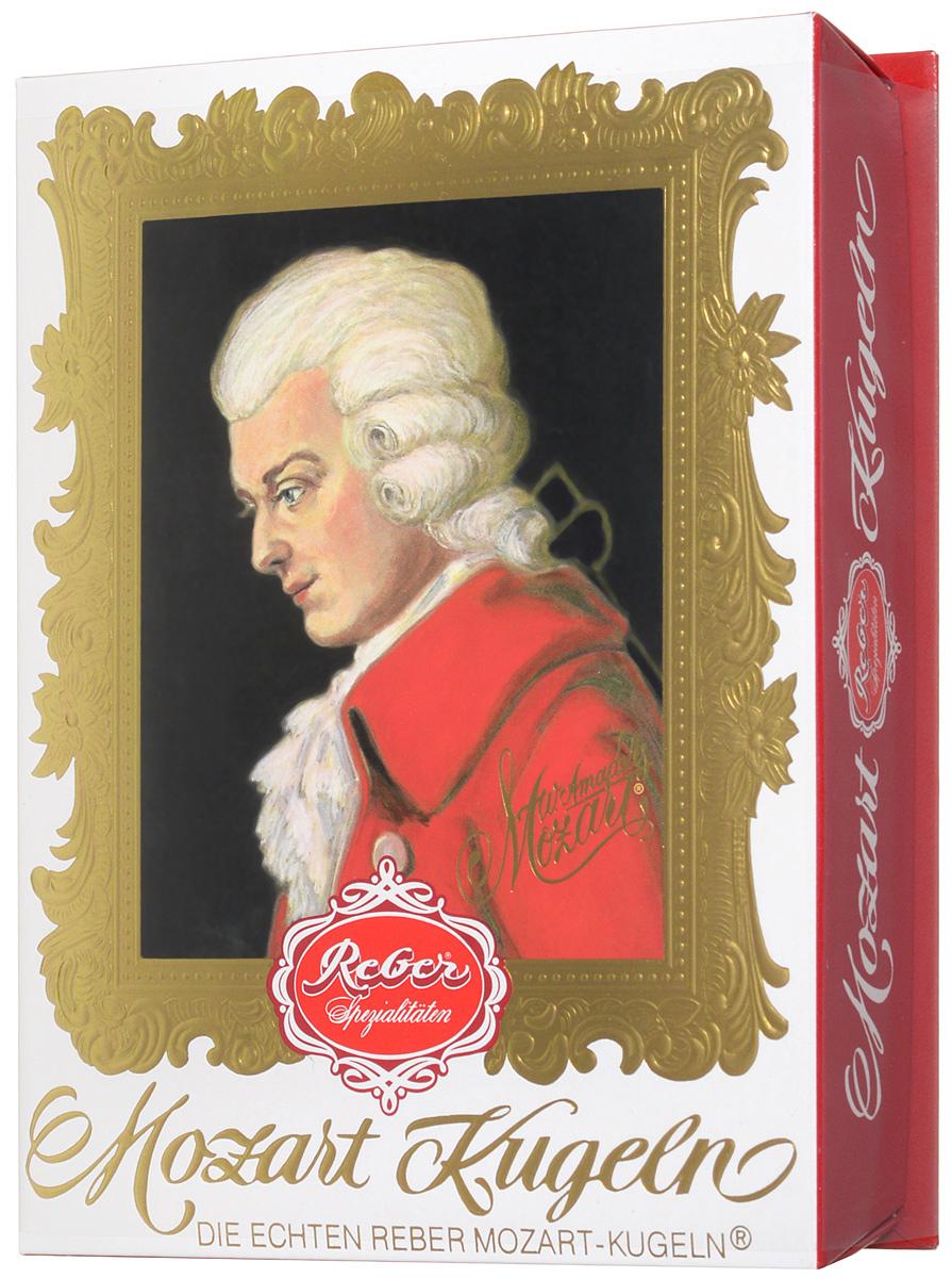 Reber Mozart Kugeln конфеты с горьким и молочным шоколадом, 240 г