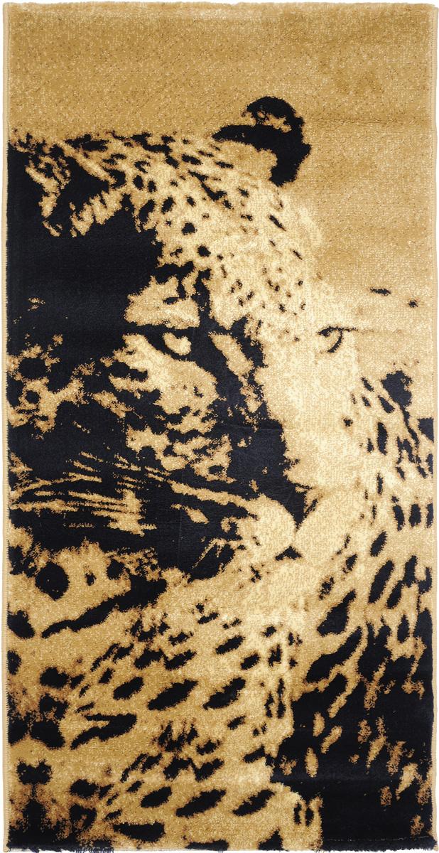 Ковер Kamalak Tekstil, прямоугольный, 80 x 150 см. УК-0418 ковер kamalak tekstil прямоугольный цвет кремовый 100 x 150 см ук 0400