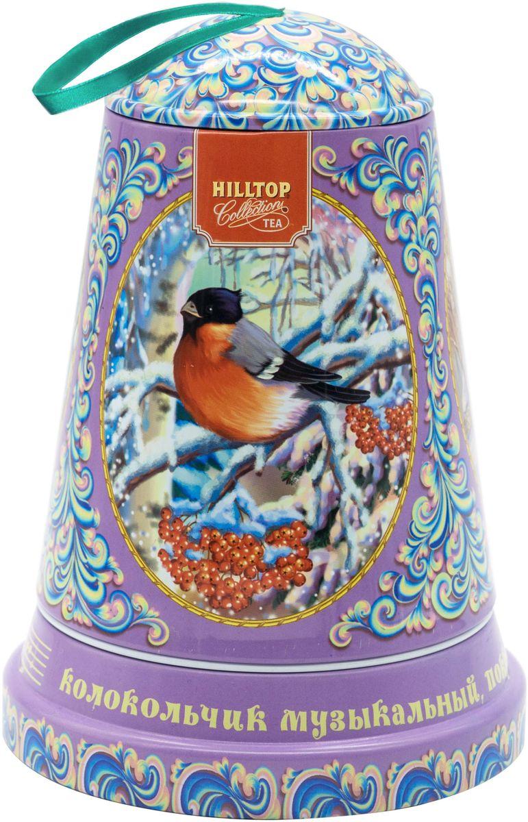 Hilltop Музыкальный колокольчик Снежные узоры Молочный оолонг ароматизированный листовой чай, 100 г hilltop музыкальный колокольчик снежные узоры молочный оолонг ароматизированный листовой чай 100 г