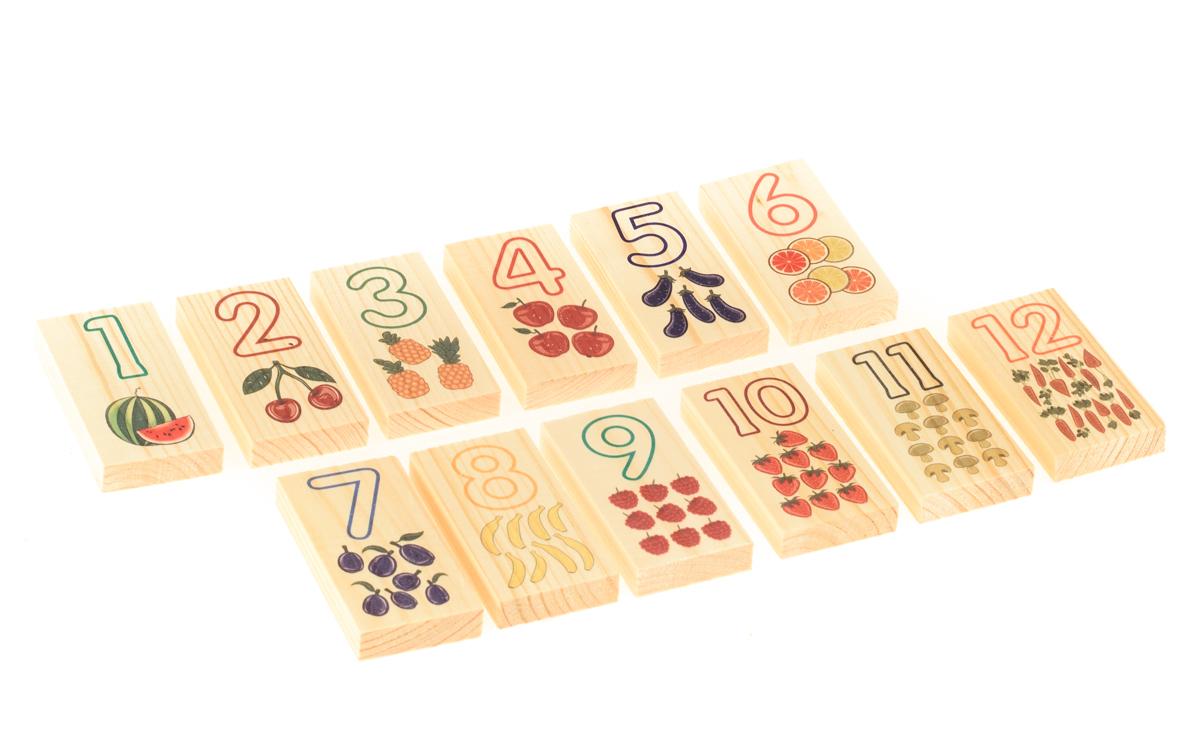 Обучающая игра АНДАНТЕ Цифры и счет красный, синий, желтый, зеленый